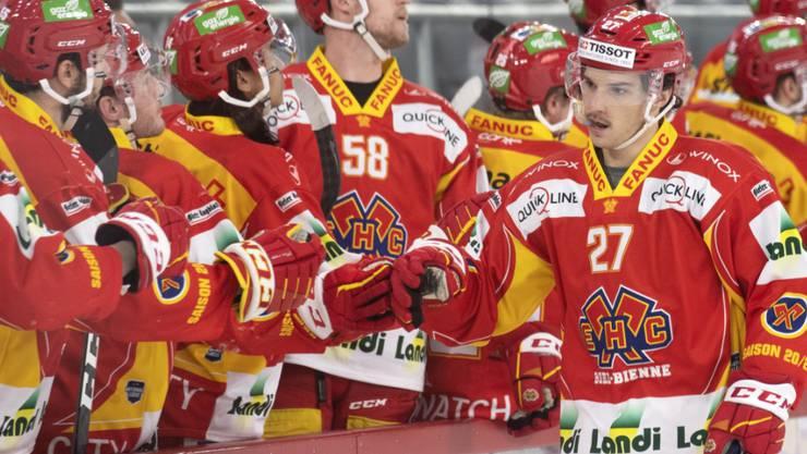 Wie die Spieler von Lugano müssen auch die Akteure von Biel wieder in Quarantäne
