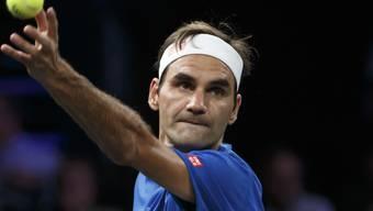 Roger Federer steht in Schanghai im Achtelfinal