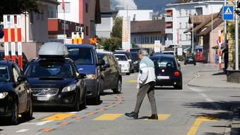 Die Hauptstrasse in Derendingen ist in einem schlechten baulichen Zustand und wird saniert sowie umgestaltet.