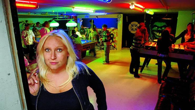 Der Jugendraum «Graffiti Chäuer» in Matzendorf wird schliessen, der Termin steht aber noch nicht fest. Auch die Jugendarbeiterin Nicole Wessling hat per Ende April gekündigt.(Bild: Hanspeter Bärtschi)
