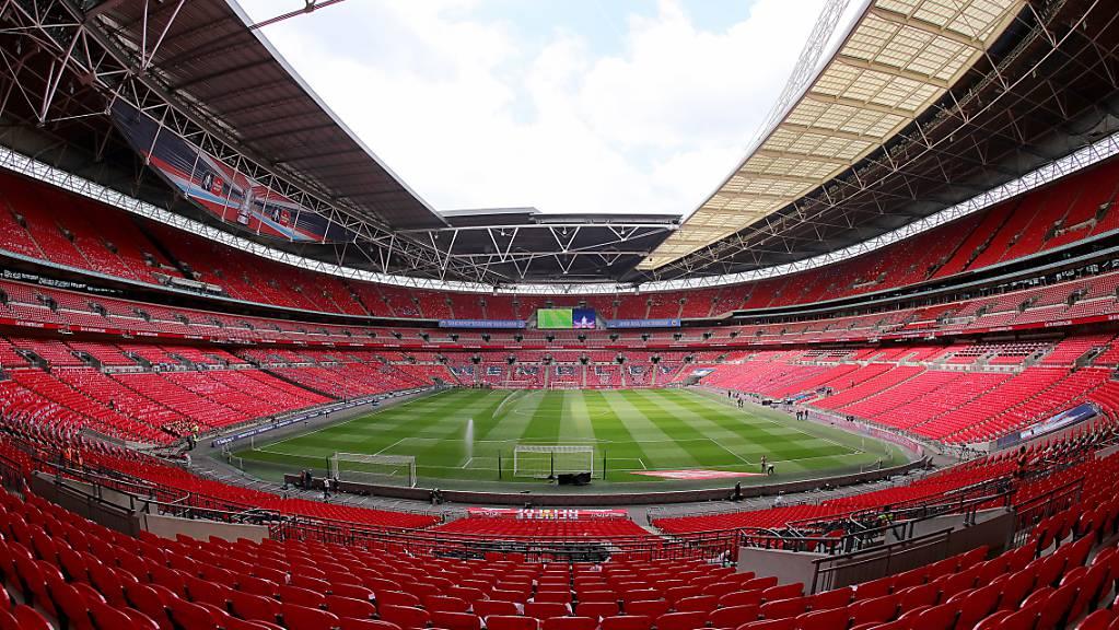 Das Wembley-Stadion in London ist am 11. Juli Schauplatz des EM-Finals