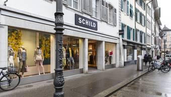 Ist Ende Dezember dieses Jahres Geschichte: Das Modehaus Schild an der Gurzelngasse wird nach 60 Jahren aus dem Stadtbild verschwinden.