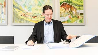 Michael Ochsenbein, Gemeindepräsident Luterbach