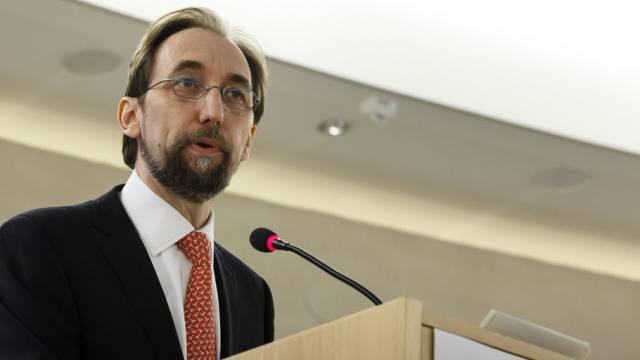 UNO-Menschenrechtskommissar Said Raad al-Hussein
