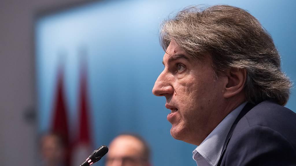 Manuele Bertoli übernimmt Regierungspräsidium