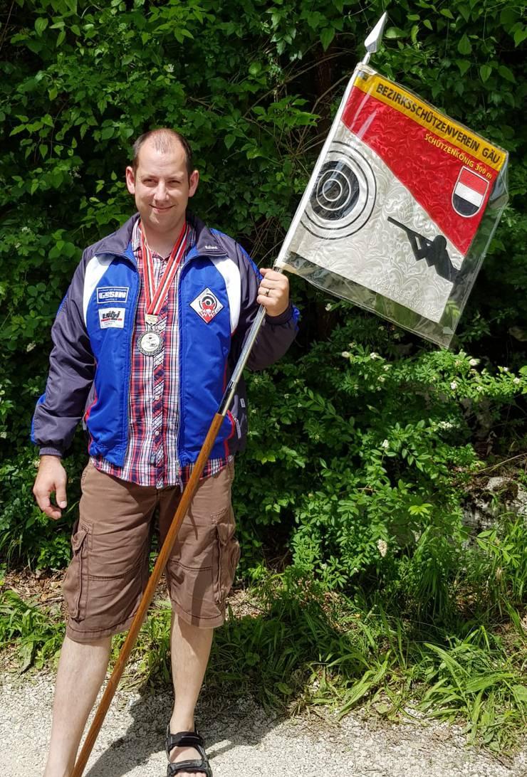 Der Schützenkönig im BSV Gäu: Roland Nützi aus Wolfwil