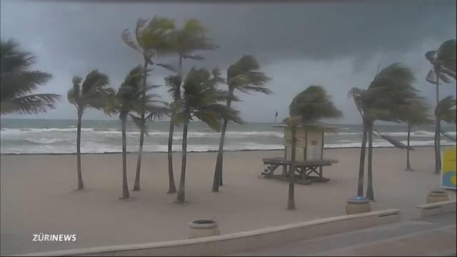Millionen bringen sich vor Irma in Sicherheit