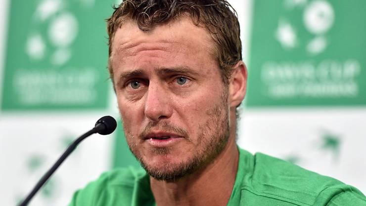 Lleyton Hewitt stellt sich - trotz kürzlich erfolgtem Rücktritt - als Reserve-Spieler für das Davis-Cup-Duell gegen die USA auf