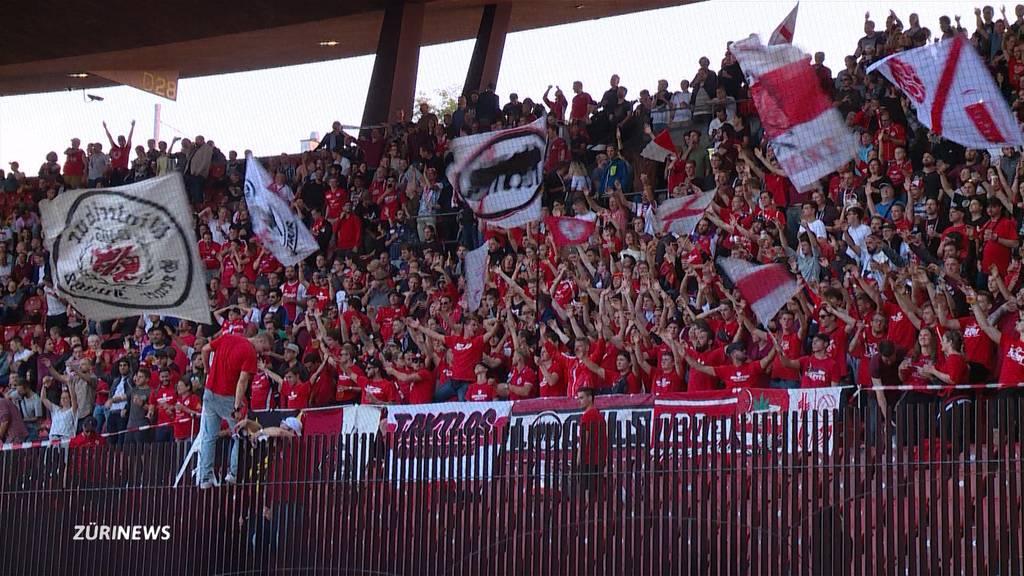 GC vs. FCW: Winterthur-Fans sorgen für eindrückliche Stimmung