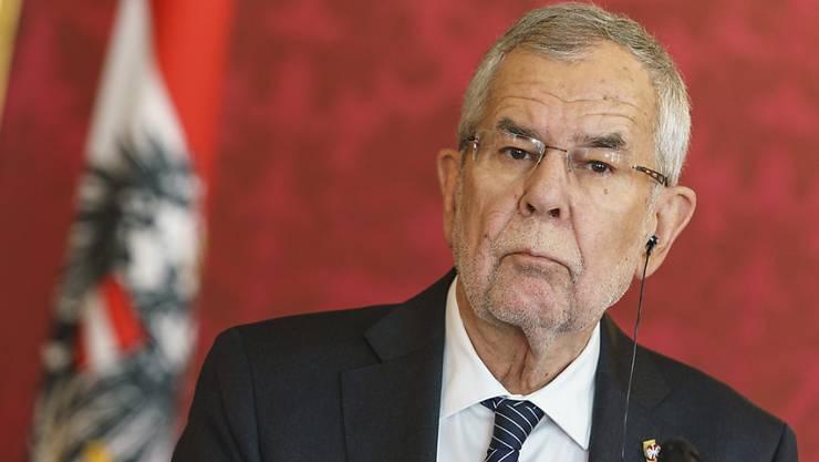 Österreichs Präsident Alexander Van der Bellen