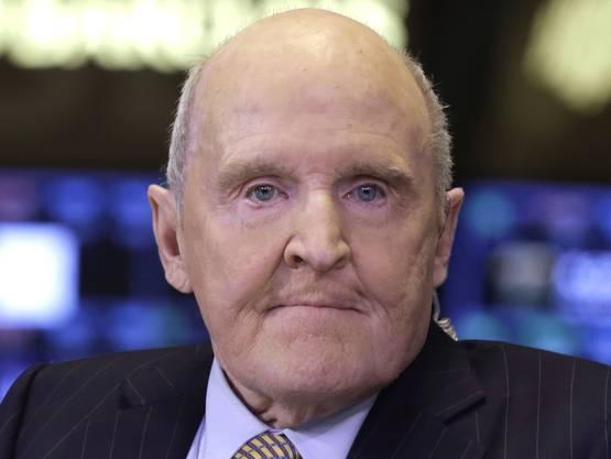 Einst «Manager des Jahrhunderts»: Der langjährige  GE-Chef Jack Welch.