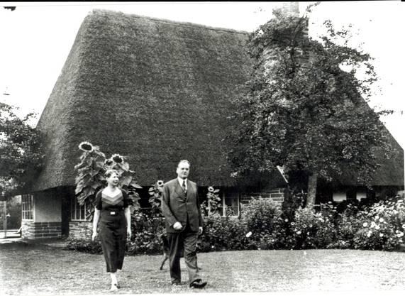 Sie stärkte ihm seit der Heirat 1913 bis zu seinem Tod 1962 stets den Rücken.