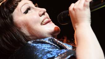Sehr konkreter Kinderwunsch: Wenn alles nach Plan läuft, wird Sängerin Beth Ditto im nächsten Jahr schwanger. (Archivbild)