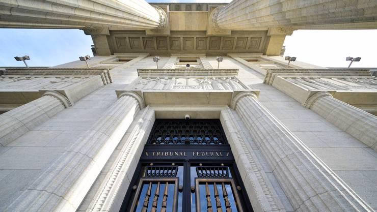 Feudale Rentenregelung: Eingang zum Bundesgericht in Lausanne.