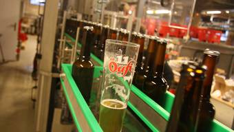 Die neue «Öufi»-Brauerei mit Flaschenabfüll-Anlage