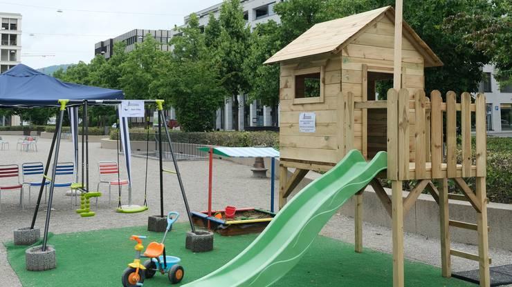Der neue Spielplatz des Quartiervereins Limmatfeld sorgt nicht nur für Freude.