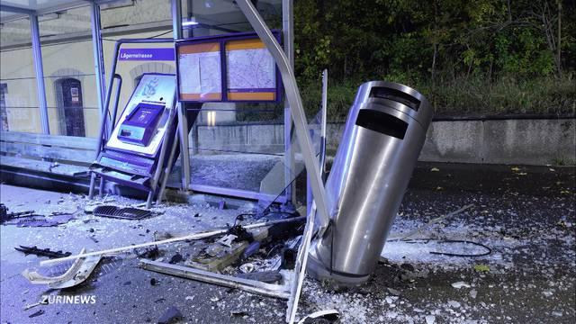 100'000 Franken Sachschaden nach Verfolgungsjagd durch Zürich