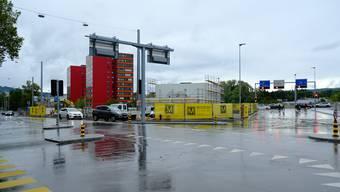 Coop-Tankstelle Dietikon aufgenommen am  9. Oktober 2019. (Archiv)