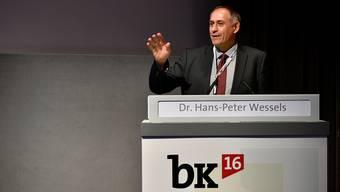 Der Basler Regierungsrat Hans-Peter Wessels ist überzeugt, dass die Chancen für den Herzstück-Bau beim Bund steigen.