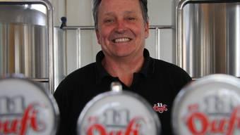 Öufi-Brauereiinhaber Alex Künzle will an der Fabrikstrasse ausbauen.