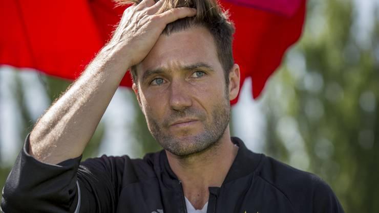 Ist nach dem missglückten Saison-Auftakt nicht mehr Trainer des FC Basel: Raphael Wicky.