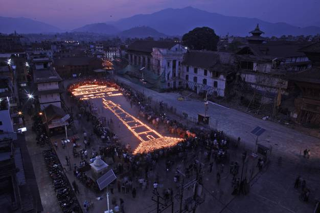 Nepal ein Jahr nach dem verheerenden Erdbeben. (9)