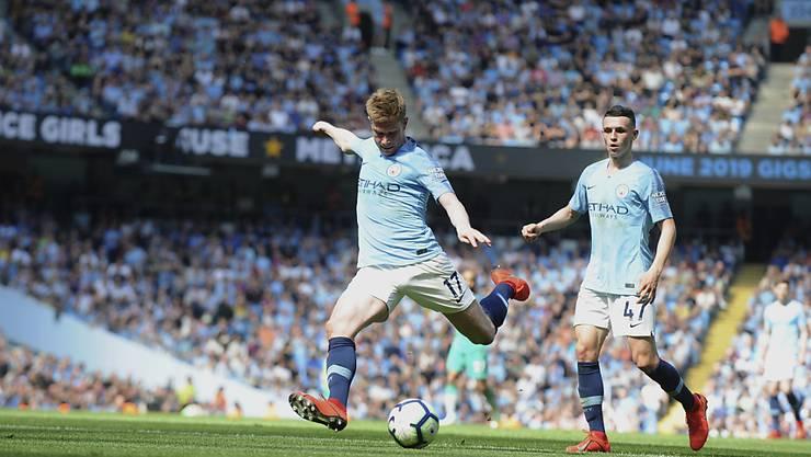 Kevin De Bruyne gelang mit Manchester City die Revanche für das bittere Aus in der Champions League