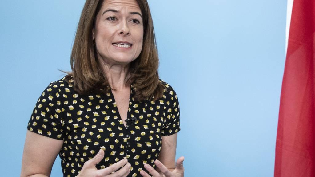 Gössi als FDP-Präsidentin wiedergewählt - Für «Enkelstrategie»