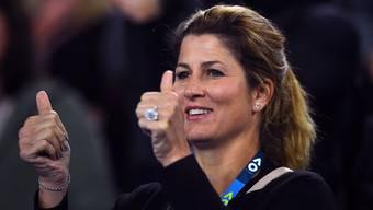 Mirka Federer ist bei jedem grossen Spiel ihres Mannes dabei.