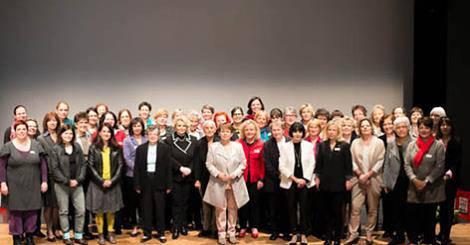 Vor dem Business&Network Day treffen sich über 40 Präsidentinnen und Geschäftsführerinnen der Schweizer Frauenorganisationen zum Austausch.
