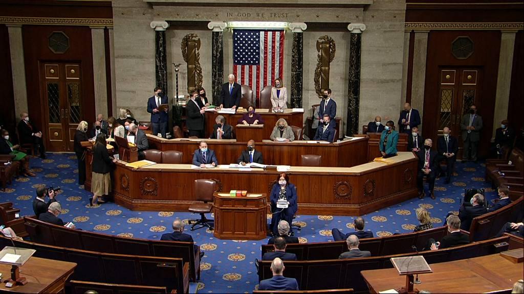 USA: Kongress bestätigt Bidens Sieg bei Präsidentschaftswahl