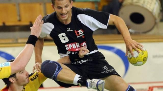 David Staudenmann bester Torschütze für BSV Bern Muri