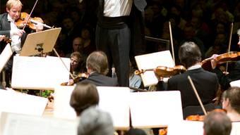 In seinem Element: Douglas Bostock, Chefdirigent des Argovia Philharmonic.