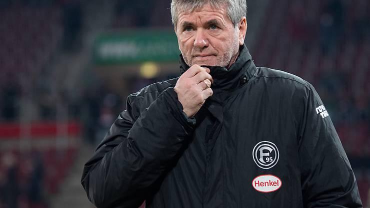 Friedhelm Funkel ist nicht mehr Trainer von Fortuna Düsseldorf