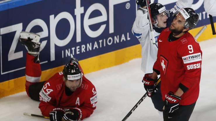 Philippe Furrer liegt für das heutige Spiel gegen Tschechien flach