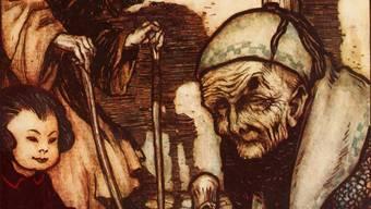Gulliver besuchte nicht nur Liliput, sondern auch Luggnagg: Dort traf er die unsterblichen Struldbrugs.Alamy