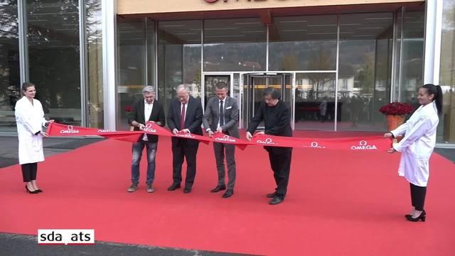 Omega eröffnet neues Produktionsgebäude