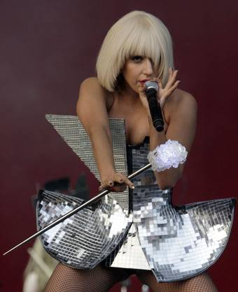 Lady Gaga am Glastonbury Festival