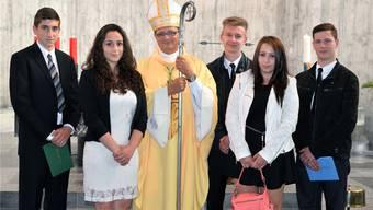 50. Geburtstag der St. Josefskirche: Selbst Bischof Gmür ist da