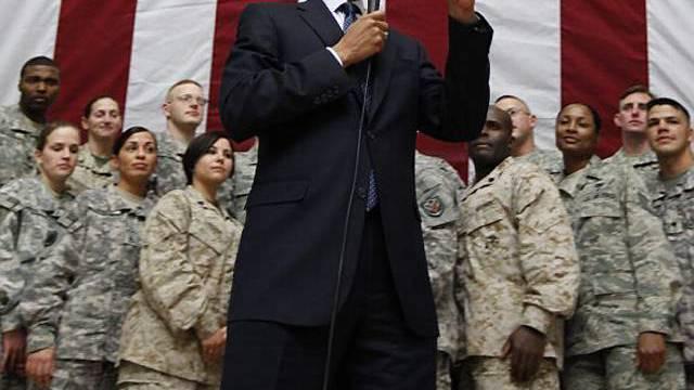 Obama würdigt die US-Truppen im Irak