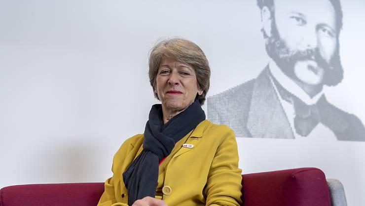Erst gerade gab sie das Präsidium des Schweizerischen Roten Kreuzes ab, nun ist alt Bundeskanzlerin Annemarie Huber-Hotz an einem Herzversagen gestorben. (Archivbild)