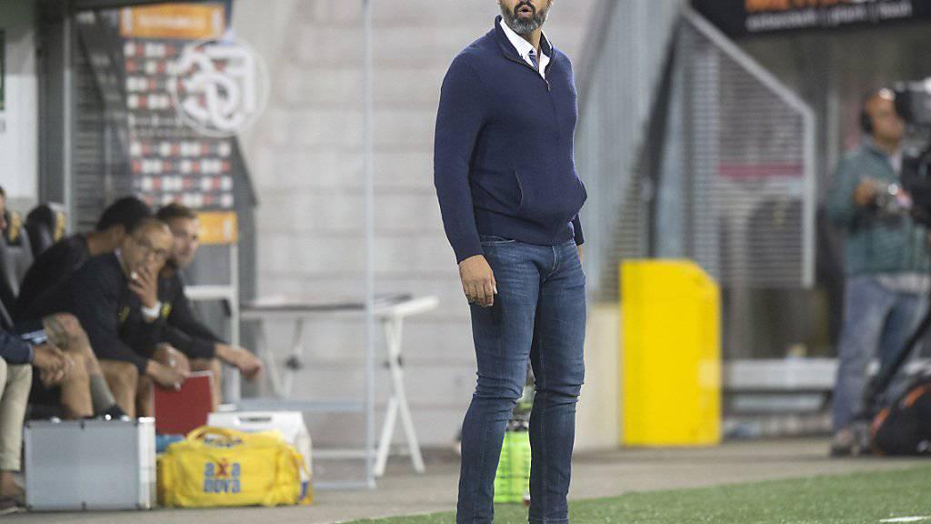 Boris Smiljanic kam mit dem FC Schaffhausen zu einem knappen Heimsieg