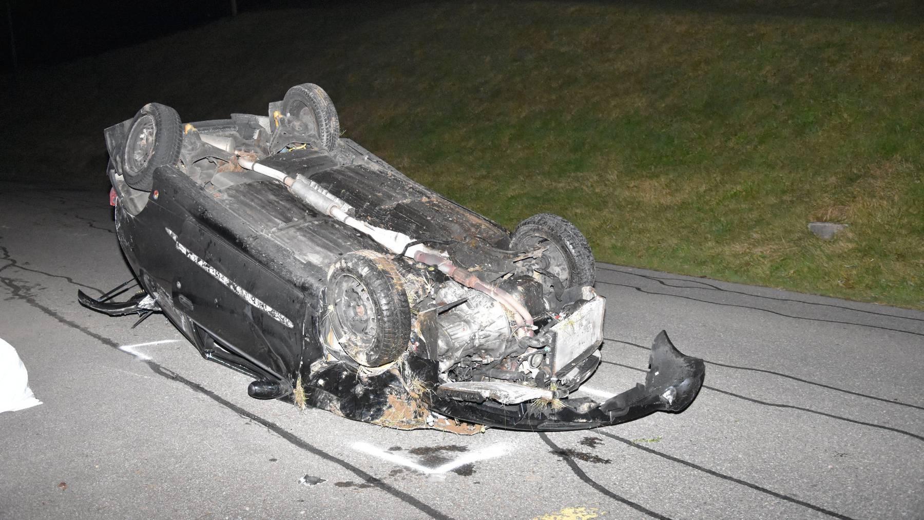 Autounfall Goldingen 6.12.2019