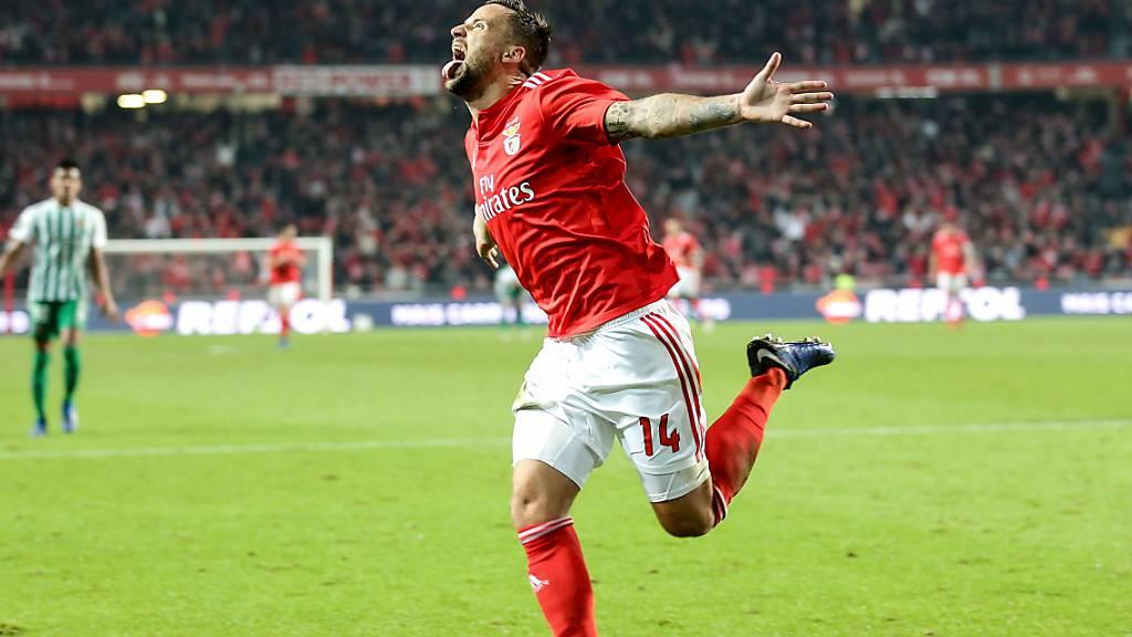 Haris Seferovic will bei Benfica den Stammplatz zurück