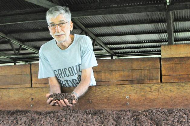 Claudio Corallo nennt sich einen Bauern - und stellt erstklassige Schokolade her.