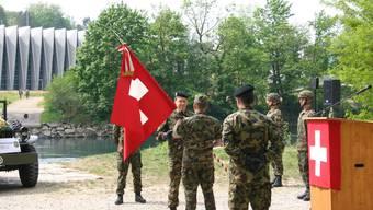 Wechsel im Kommando des Genie-Waffenplatzes Brugg