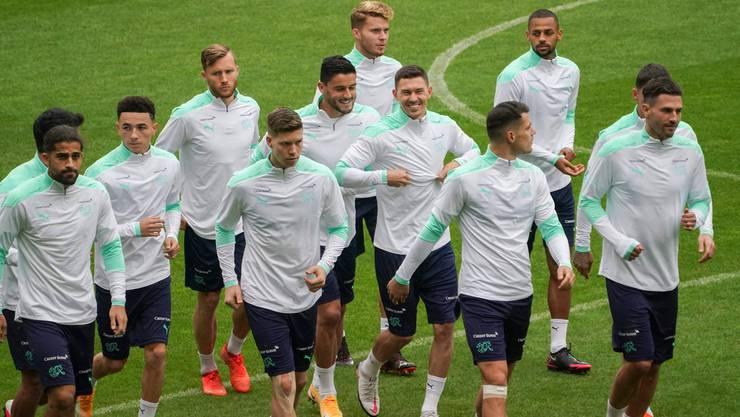 Die Schweizer Spieler können sich im Test gegen Kroatien auf Zuschauer freuen.