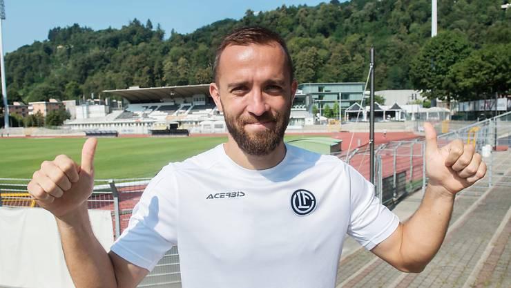 Mijat Maric verstärkt ab sofort den FC Lugano