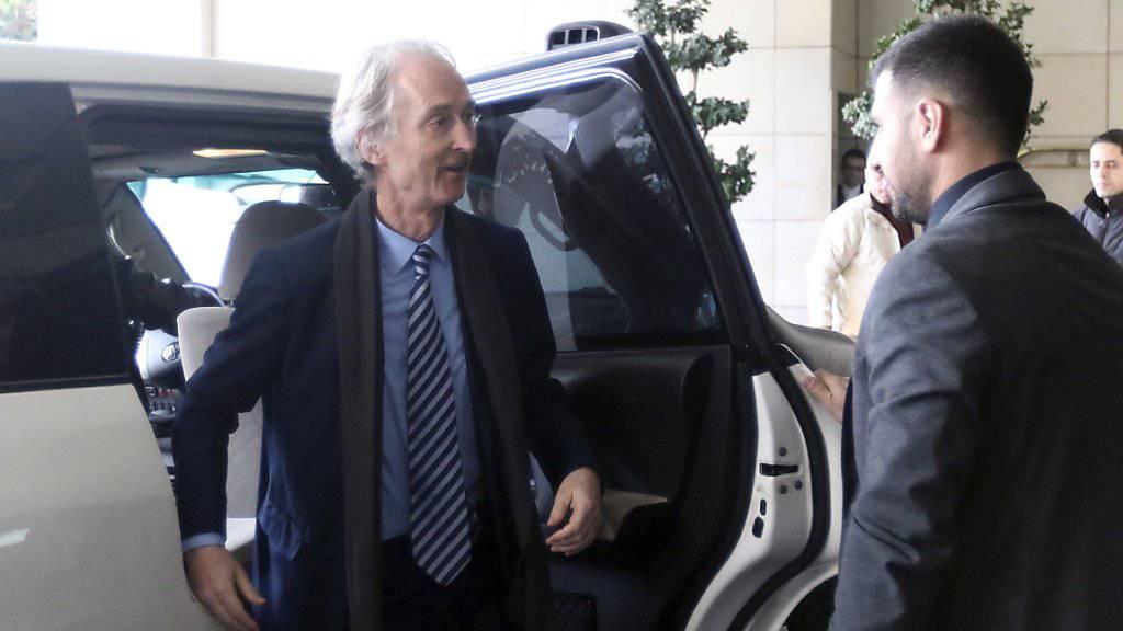 Neuer Uno-Vermittler Pedersen zu Antrittsbesuch in Syrien