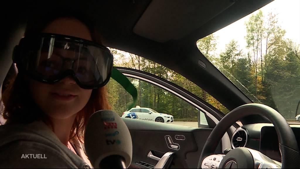 Sufffahrt-Brille: Tele M1 macht den Fahrtest